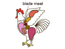 blade meat