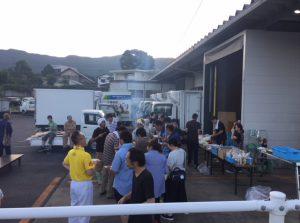 弊社にて焼肉会が開催されました。